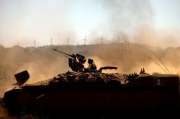 الاحتلال يستهدف متظاهرين فلسطينيين شرق دير البلح