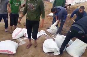 #مباشر   إستمرار التجهيزات من شرق مخيم البريج استعدادا  لجمعة #الشباب_الثائر .  بث مراسلنا : أحمد المقادمة