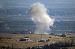 سقوط قذيفة صاروخية في الجولان