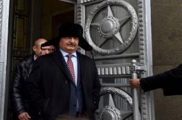 وساطة روسية تنهي الأزمة بين حفتر وإيطاليا