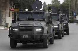 الاحتلال يسمح بإدخال مركبات مدرعة للسلطة