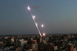 إطلاق صاروخ من شمال القطاع