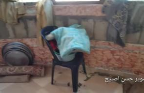 #شاهد الأضرار التي تسبب بها القصف الصهيوني شمال قطاع غزة فجر اليوم