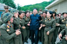 زعيم كوريا الشمالية يأمر بتدريب نصف مليون فتاة استعدادا للحرب