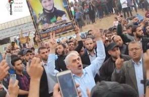 #شاهد القائد السنوار يردد شعار الرئيس الراحل ابو عمار (عالقدس رايحين شهداء بالملايين)