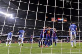 الدوري الإسباني: ميسي ينقذ برشلونة من مصيدة ليغانيس