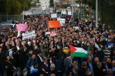 الآلاف يتظاهرون في عرعرة بالداخل المحتل ضد سياسة الهدم والعنصرية
