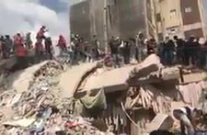 زلزال المكسيك المدمر يتسبب بانهيار عشرات المنازل