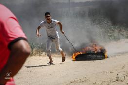 الاحتلال يزعم تعرض قواته لاطلاق نار على حدود القطاع