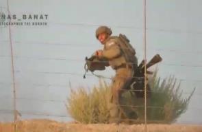 #شاهد لحظة هروب جندي من قوات الاحتلال عقب إصابته خلال فعالية المسير البحري شمال قطاع غزة