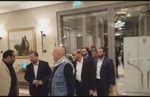 #شاهد .. لحظة انتهاء الحوارات بين الفصائل الفلسطينة في العاصمة المصرية القاهرة.