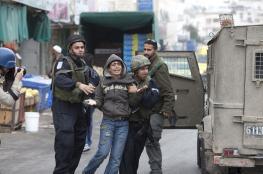الاحتلال يعتقل ثلاثة فتية فجر اليوم في القدس