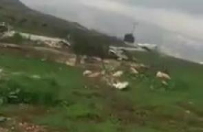 #شاهد انتشار للمستوطنين على مدخل بيت فوريك شرق نابلس.