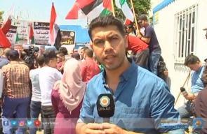 #غزة | فعاليات احتجاجية، تنديداً بعدوان الاحتلال علي المسجد الأقصى  تقرير: محمد الداعور