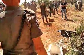 #فيديو الاحتلال يخلي المستوطنين من البؤر العشوائية في منطقة