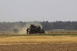 توغل اسرائيلي شرق غزة