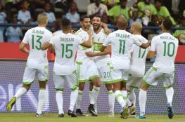 ثنائية محرز تنقذ الجزائر من الهزيمة أمام زيمبابوي
