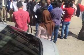 #فيديو وقفة احتجاجية في مدينة البيرة بالضفة الغربية رفضا للقرارات الأمريكية في القدس