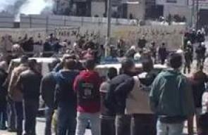#شاهد لحظة قمع السلطة لمسيرة حزب التحرير في الخليل التي خرجت رفضا للاعتقال السياسي