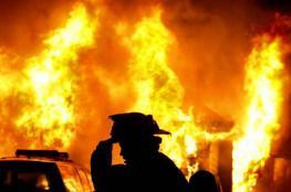 حريق يلتهم ثلاثة طوابق في كنيسة بالقاهرة