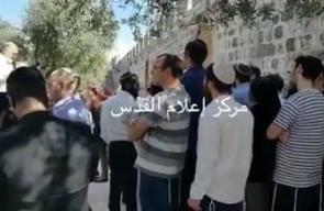 #فيديو 152 مستوطنا يقتحمون المسجد الأقصى