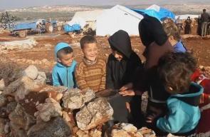 معاناة النازحين في مخيم العز غربي #حلب