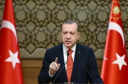 أردوغان: ستدرك الولايات المتحدة أنها ارتكبت خطأ فادحا