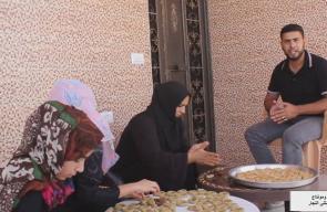 #شاهد كعك العيد في خانيونس بأقل التكاليف  تقرير: مثنى النجار