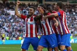 أتليتيكو يقتنص نقطة غالية من أنياب ريال مدريد