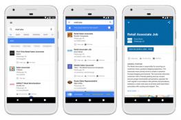جوجل تطلق ميزة جديدة تتيح البحث عن الوظائف