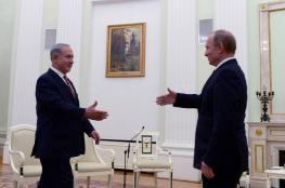 نتنياهو يلتقي بوتين الأربعاء لبحث الملف السوري