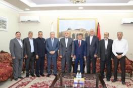 هنــية يلتقي بعدد من السفراء بالدوحة ويضعهم في صورة تطورات القضية الفلسطينية