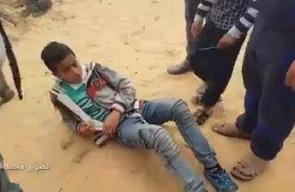 #شاهد ماذا فعل جنود الاحتلال للمصلين في مسيرة العودة شرق رفح؟