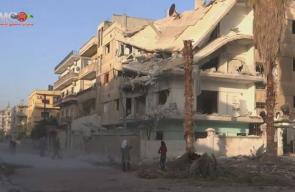 دمار جراء القصف المتواصل على حي الوعر المحاصر في #حمص