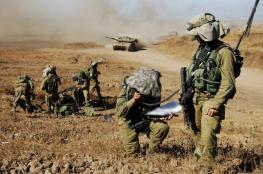 مناورة لجيش الاحتلال شمال فلسطين المحتلة
