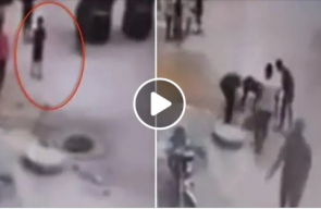طفل مصري يلهو بطائرة ورقية.. وفجأة حدثت الكارثة!