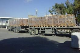 لليوم الثاني – إدخال شاحنات المساعدات التركية لغزة