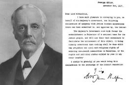 """بريطانيا ترفض الاعتذار عن وعد بلفور وتفتخر بإيجاد """"إسرائيل"""""""