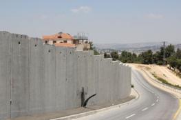 الاحتلال يستأنف بناء الجدار حول قرية الولجة جنوب القدس