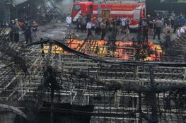 وتوقع قتلى.. شعلة تتسبب بانفجار مصنع في إندونيسيا