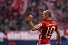 بايرن ميونيخ يعلن تجديد عقد روبن حتى 2018