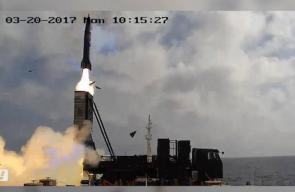 #فيديو الصناعات الجوية الصهيونية تجري تجربة صاروخية على منظومة السلاح الجديد LORA   التجربة أجريت على صاروخ ارض ارض بعيد المدى بوزن 1.6 طن تقريبًا يصل مداه لـ 400 كم