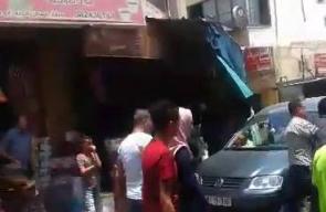 #شاهد كيف تعتقل الأجهزة الأمنية في جنين الشيخ إبراهيم الجبر أحد قيادات حركة حماس وأسير محرر أمضى في سجون الاحتلال حوالي ١٩ عاماً ووالد الشهيد القسامي مصعب الجبر