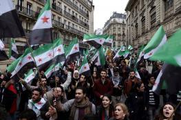 سوريون يحيون الذكرى السادسة لثورتهم في عواصم عالمية