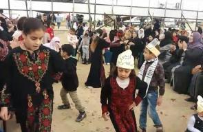 #مباشر عرس فلسطيني في مخيم العودة شرق غزة بث/ عبد الرحمت الربعي