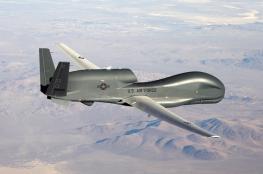 الحرس الثوري يعرض طائرة أسقطها في هرمز في معرض الصناعات الجوفضائية