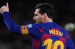 ميسي يبلغ المرشح المحتمل لرئاسة نادي برشلونة بقراره النهائي