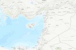 هزة بقوة 4.9 درجة على مقياس ريختر شمال جزيرة قبرص