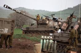 جيش الاحتلال يعلن عن مناورات عسكرية غدا