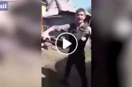 شاب يقتل نفسه أمام الكاميرا
